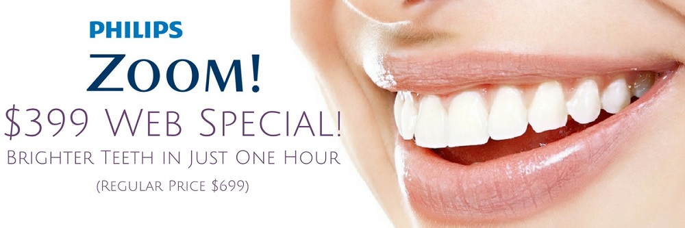 zoom teeth whitening special promotion long island